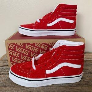 Vans Sk8-Hi Racing Red Shoes